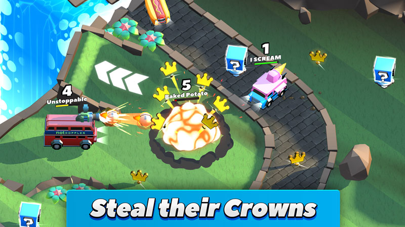 Steal their Crowns